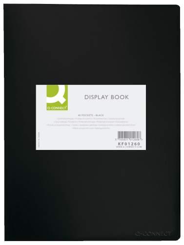 Sichtbuch,40 Hüllen,schwarz