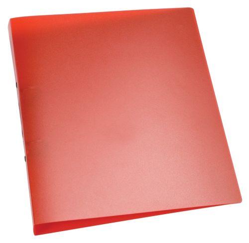 Ringbuch A4,transluzent,rot