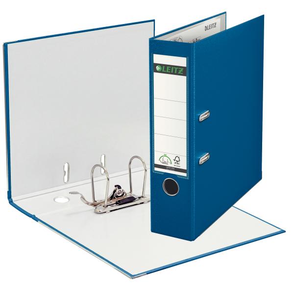 Ordner,A4,8cm,Kunststoff,blau
