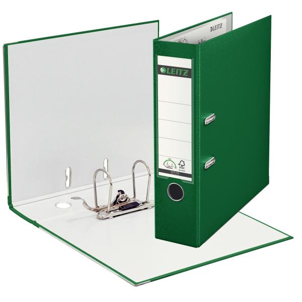 Ordner,A4,8cm,Kunststoff,grün