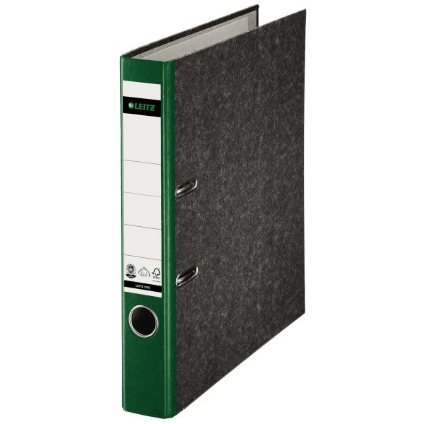 Ordner,A4,5cm,Pappe,grün