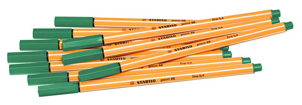 Faserschreiber 88,grün