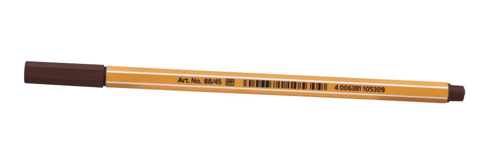 Faserschreiber 88,braun