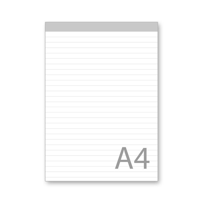 Notizblock,A4,liniert,50 Bl.